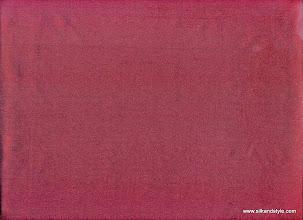 Photo: Mysore 15 - Matching Plain Silk Taffetta - Ruby