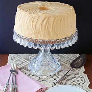 Butterscotch Chiffon Cake with Penuche Frosting