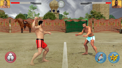 Kabaddi Fighting League 2019: Sports Live Game  captures d'écran 1