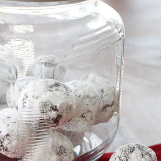 No-Bake Fudgy Snow Balls.