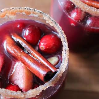 Cranberry Apple Sangria.