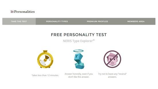 16 personalities test 2017 for PC-Windows 7,8,10 and Mac apk screenshot 1