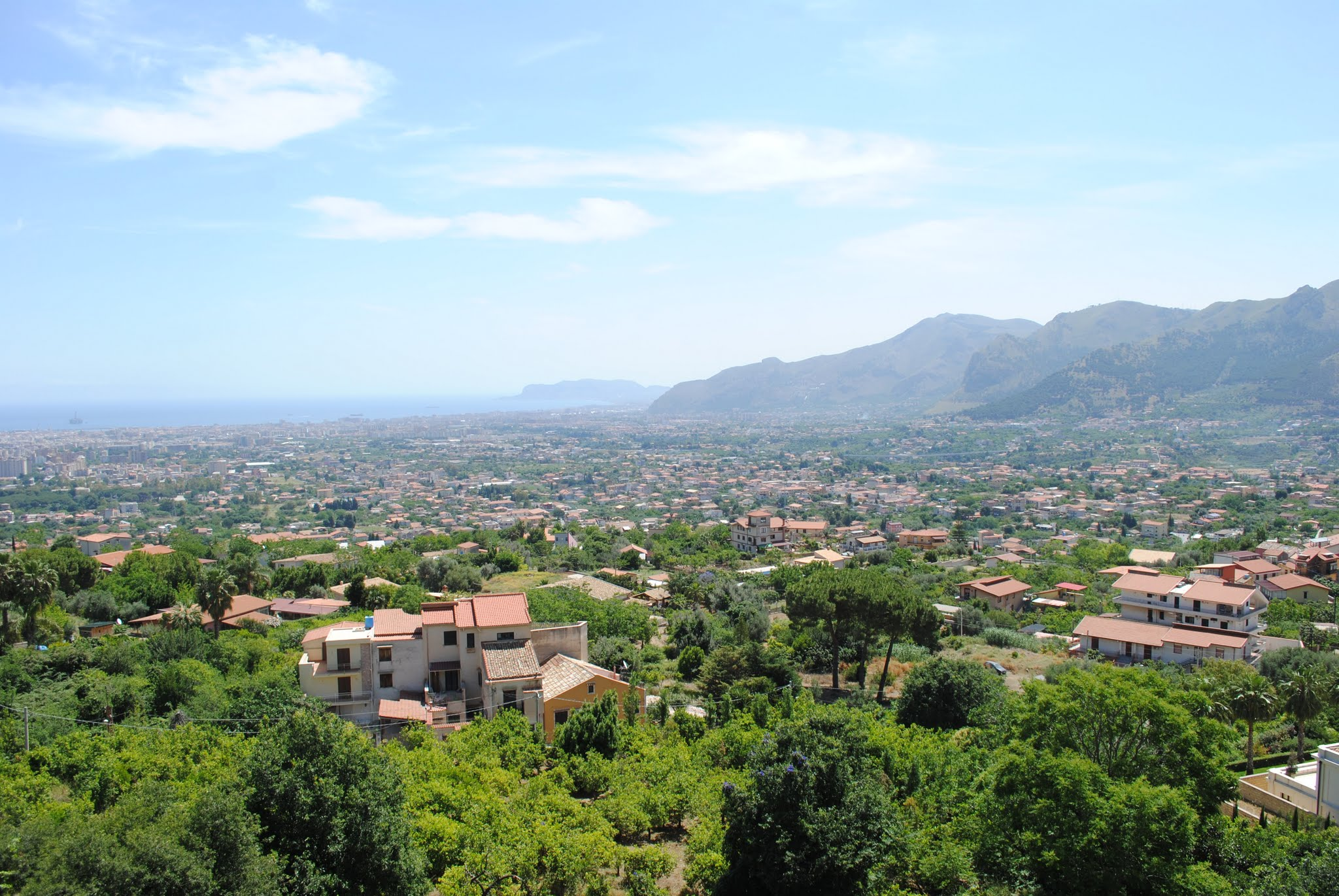 My Photos: Italy -- Sicily -- Palermo -- Monreale -- Scenes of the town