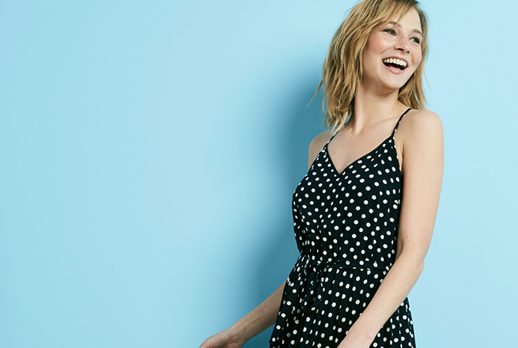 Discover how to style this seasons spots and stripes