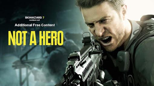 """[Resident Evil 7] DLC """"Not A Hero"""" ประกาศเลื่อนไม่มีกำหนด!"""