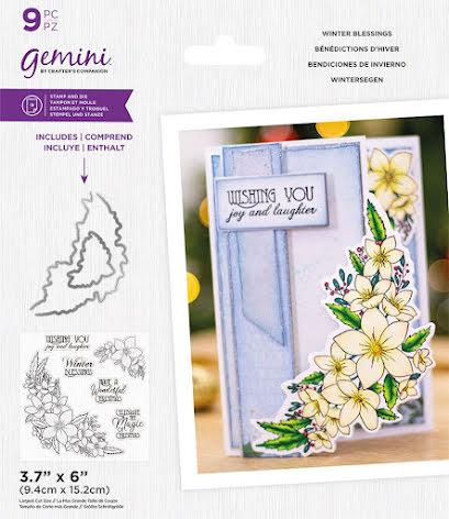 Gemini Stamp & Die - Winter Blessings