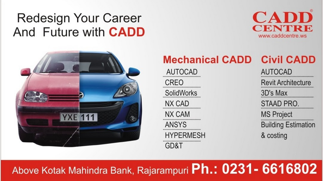 Cadd Centre Mechanical Civil Cad Training Catia Creo Solidworks Ansys Autocad Revit 3ds Max Staad Pro Training Institute Pune