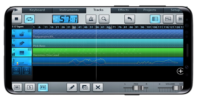 Garage Band Android