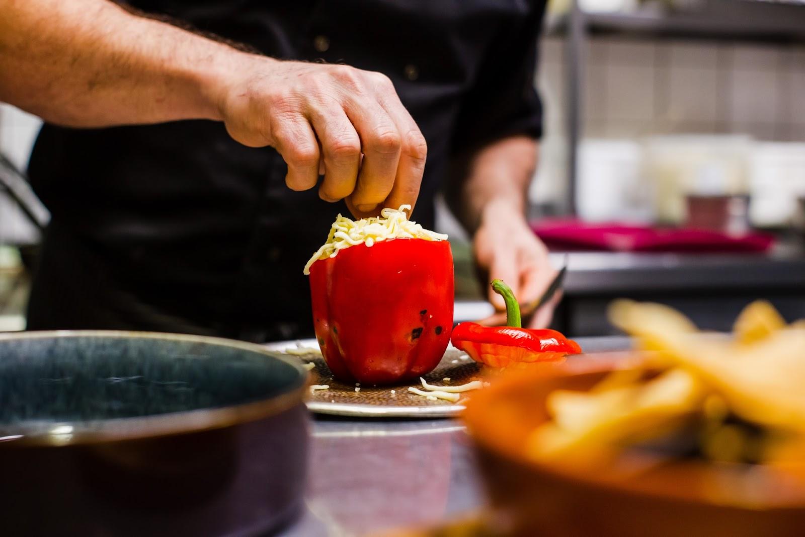 Kann ich frische Paprika roh einfrieren?