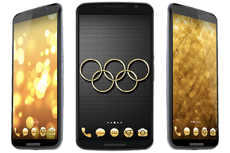Golden Theme screenshot 5