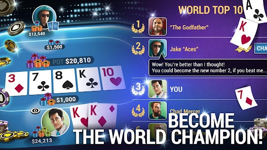 Poker World – Offline Texas Holdem App Download For Android and iPhone 5