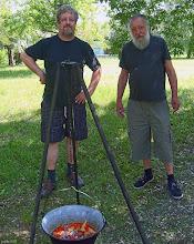 Photo: Z prawej - Duffek Tivadar