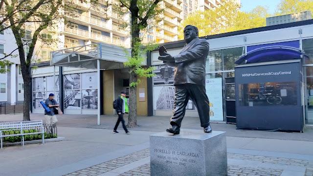 Fiorello LaGuardia statue
