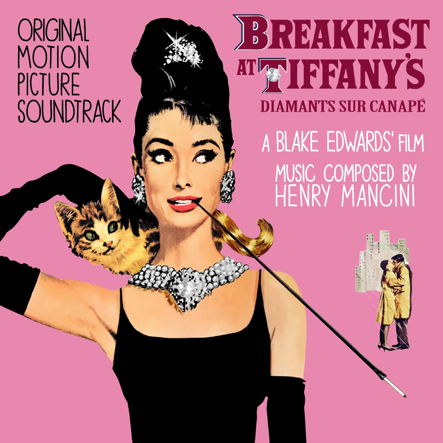 Album Artist: Henry  Mancini / Album Title: Breakfast at Tiffany's – Original Motion Picture Soundtrack (Music Composed by Henry  Mancini) [Customized Album Art]