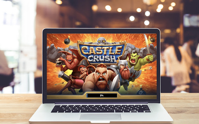 Castle Crush HD Wallpapers Game Theme