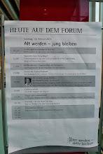 Photo: Tagesprogramm