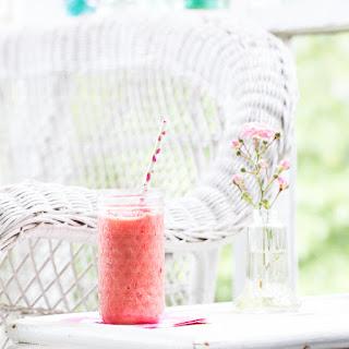 Strawberry Watermelon Smoothie.