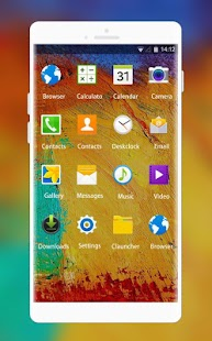 Theme for Samsung Galaxy Note 3 Neo HD - náhled