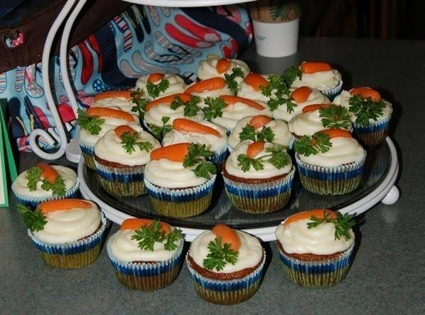 Delena's Carrot Cake Cupcakes