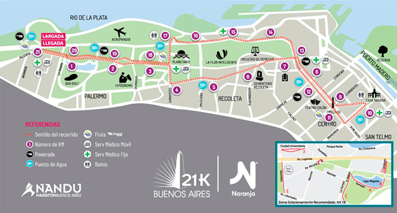 HERNANDO RUNNING TEAM PRESENTE POR SEGUNDO AÑO EN LOS 21 K BUENOS AIRES