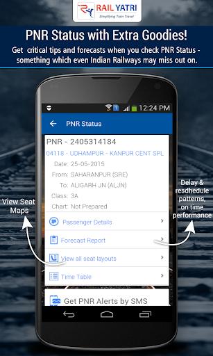 PNR Status IRCTC Train info