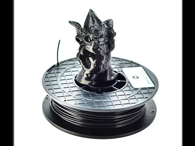 MadeSolid FlexSolid Black Flexible Filament - 2.85mm (1lb)
