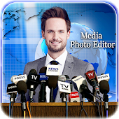 Media Photo Editor – Press Conference Photo Frame