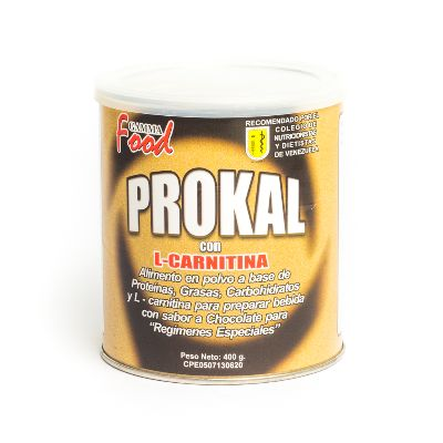 Suplemento Nutricional Prokal L-Carnitina Cho 400G Gamma Food