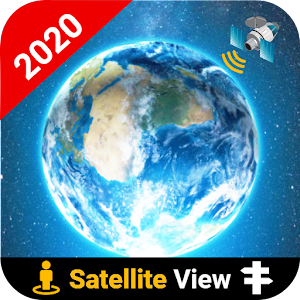 GPS Satellite Maps Live Navigation Route Finder 2.0.4 by PopularAppsHub logo
