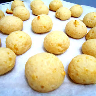 Sticky Brazilian Cheese Bread.