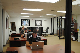 Photo: Office space at the new Saco, Maine facility
