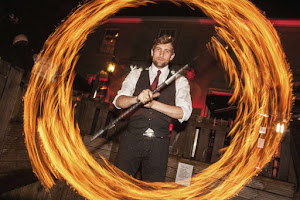 Fire & Grind Shows In Hertfordshire | Platinum Disco