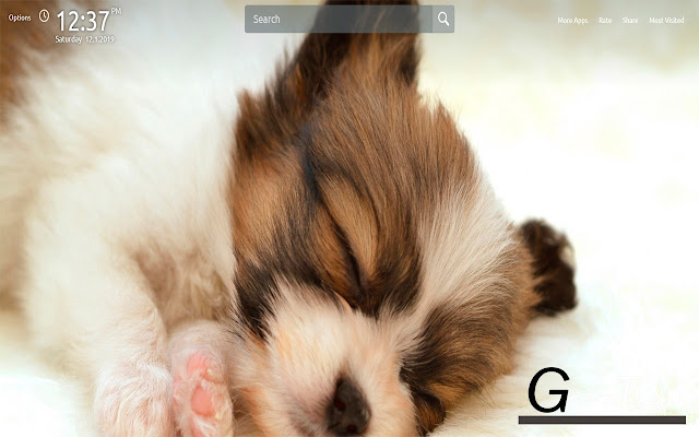 Dogs And Puppies Wallpapers Theme |GreaTab