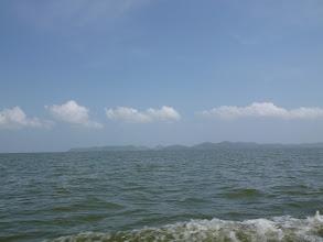 Photo: ...hinauf auf den riesigen Lago de Nicaragua...