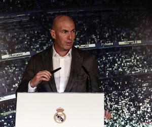Le nouveau salaire de Zidane au Real Madrid