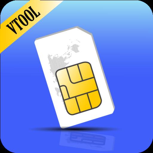 VSIM:SIMカード情報 工具 App LOGO-硬是要APP