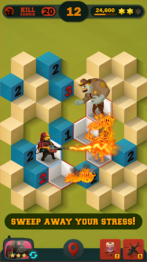 Zombie Sweeper: Minesweeper Action Puzzle 1.1.015 screenshots 4