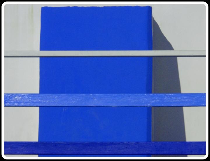 Geometrie in Blu.... di Marzia Borgognoni
