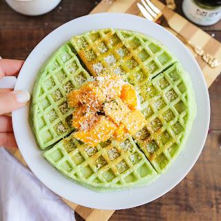 Green Tea Matcha Waffles