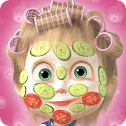 Free Download Masha and the Bear: Hair Salon and MakeUp Games APK for Samsung