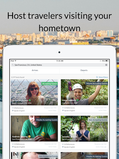 Couchsurfing Travel App 4.36.5 Screenshots 7
