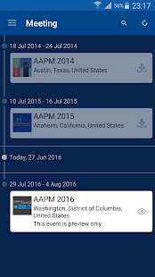 AAPM Annual Meeting- screenshot thumbnail