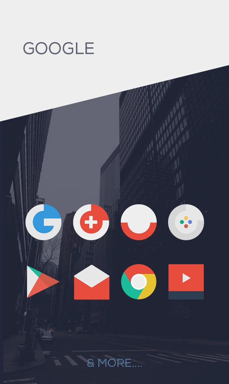 Minimalist - Icon Pack Screenshot 2