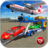 Cargo Airplane: Car Transporter Truck Driving Game Android APK Download Free By Game Town Studio
