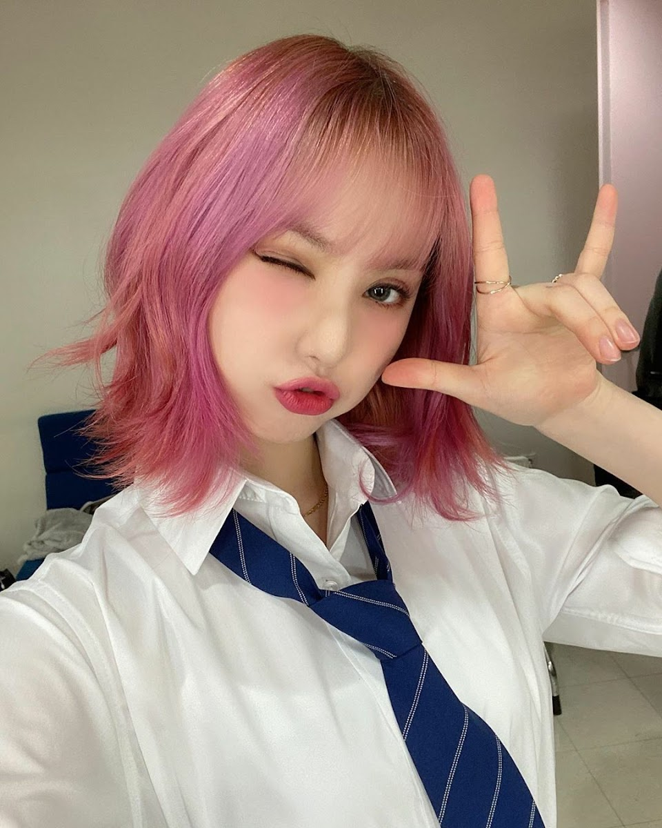 short pink 13