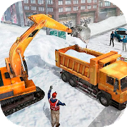 Snow Heavy Excavator Simulator