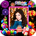 Happy Birthday Photo Frame icon