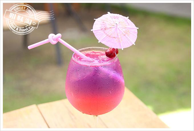 小琉球荷花軒漸層氣泡飲玫瑰荔枝