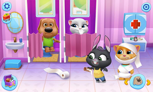 My Talking Tom Friends screenshots 2