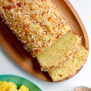 Glazed Pineapple Coconut Bread